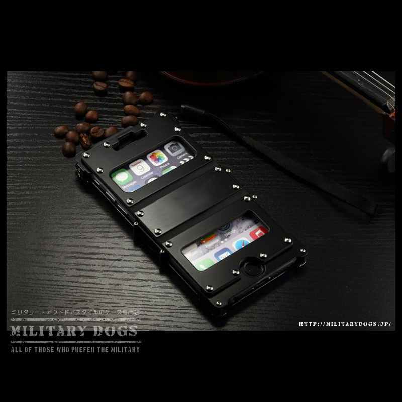 iphone6plus ステンレスケース