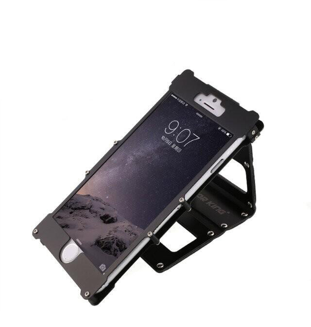 iphone6plus 耐衝撃ケース 上開き メタルケース