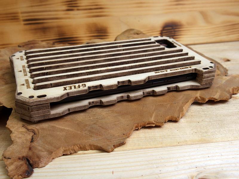 アイフォン8 木製ケース