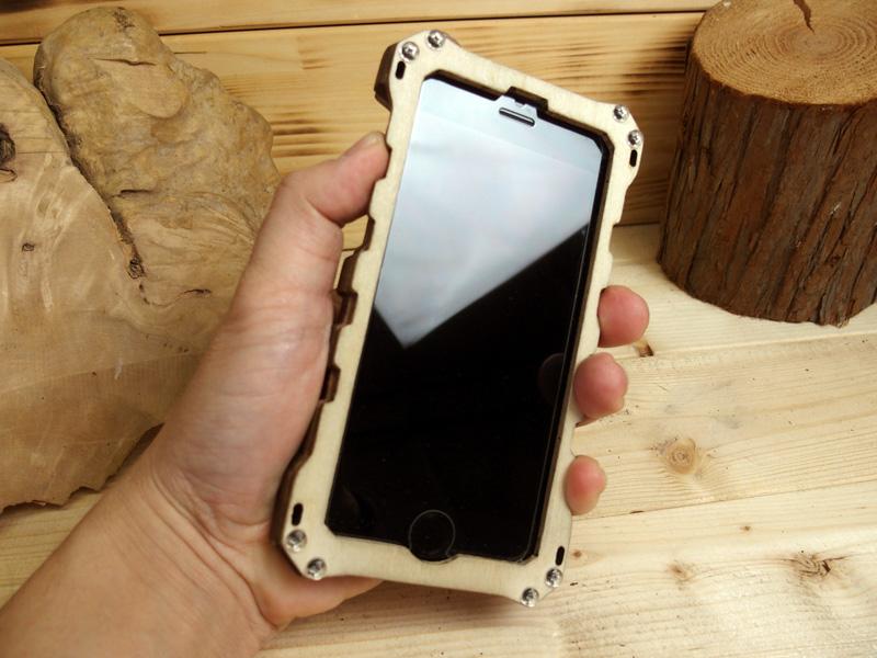 iPhone8 ウッドケース