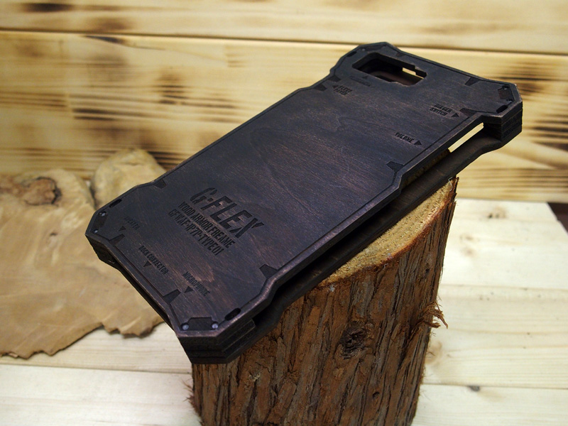 iphone7 plus 木のケース