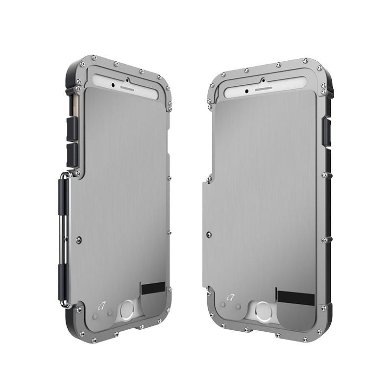 iPhone7 ステンレスアーマー