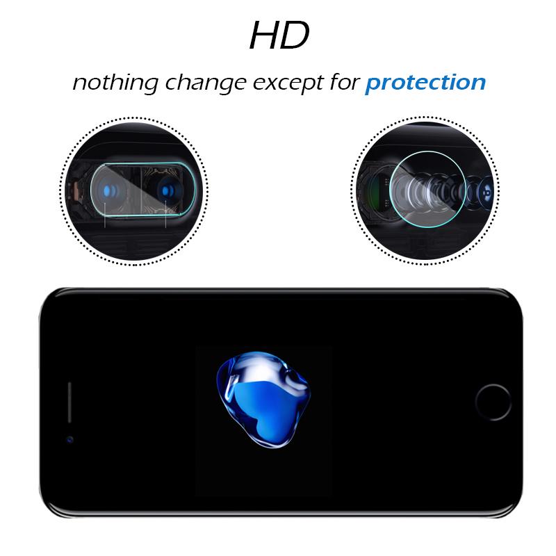 iPhone 8 カメラレンズプロテクター