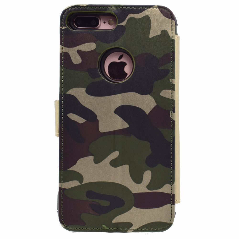 iphone7 着脱式 手帳型 カモフラージュ