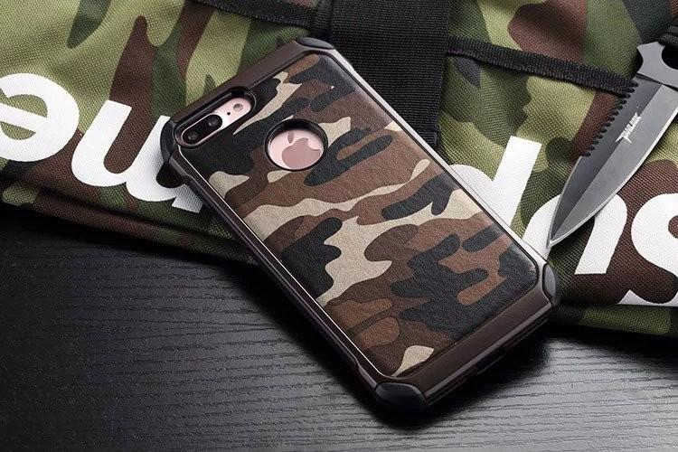 iPhone7 plus 耐衝撃 迷彩