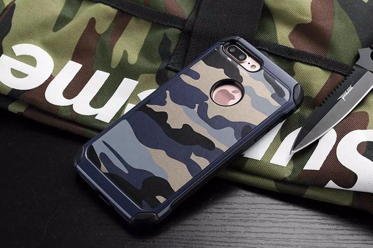iPhone7 plus タフケース 迷彩