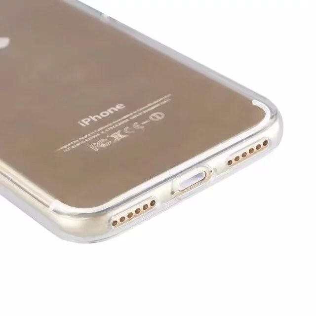 iPhone7 クリア タフケース