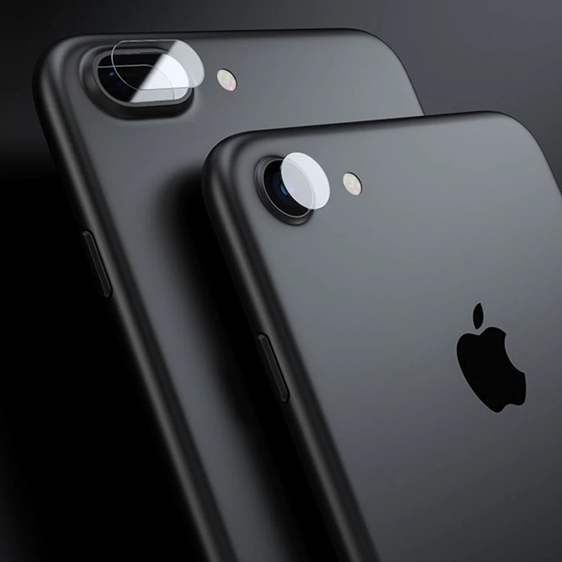iPhone8 カメラレンズ 強化ガラス