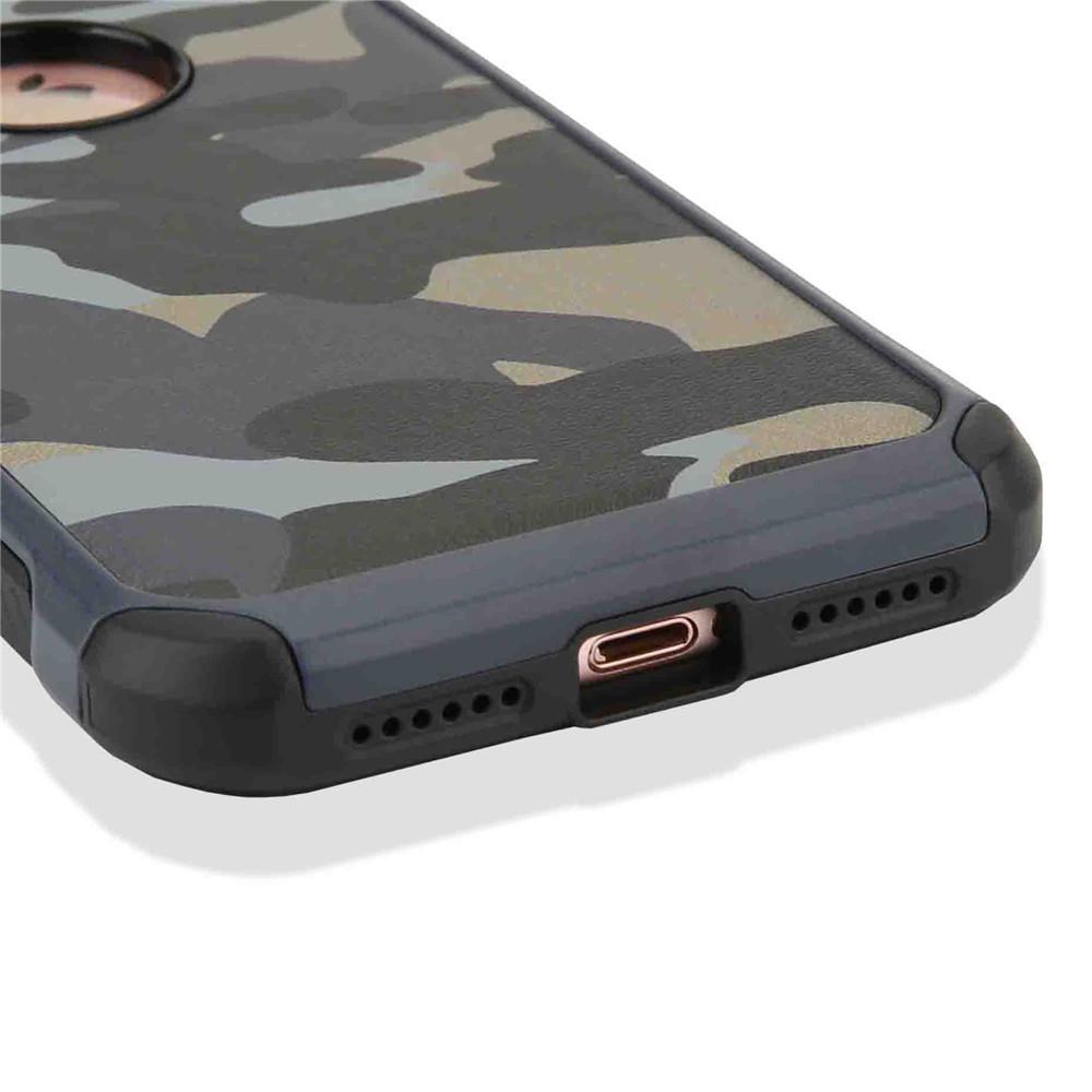 iPhone7 耐衝撃 迷彩