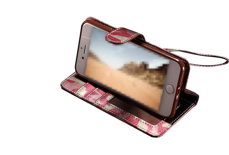 iPhone SE2 迷彩 手帳型