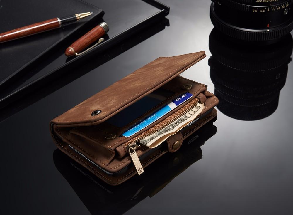 iphone7 レザーケース マグネット