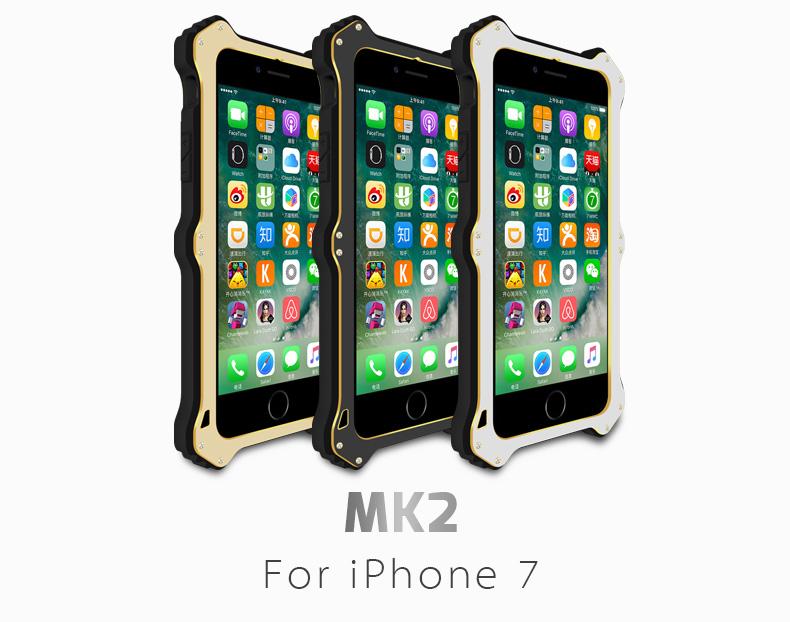 iPhone8 アルミ タフケース