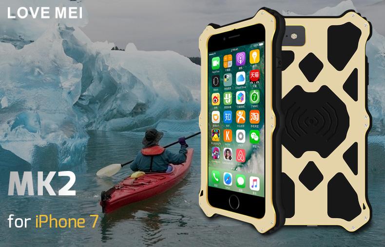 iPhone8 メタルケース