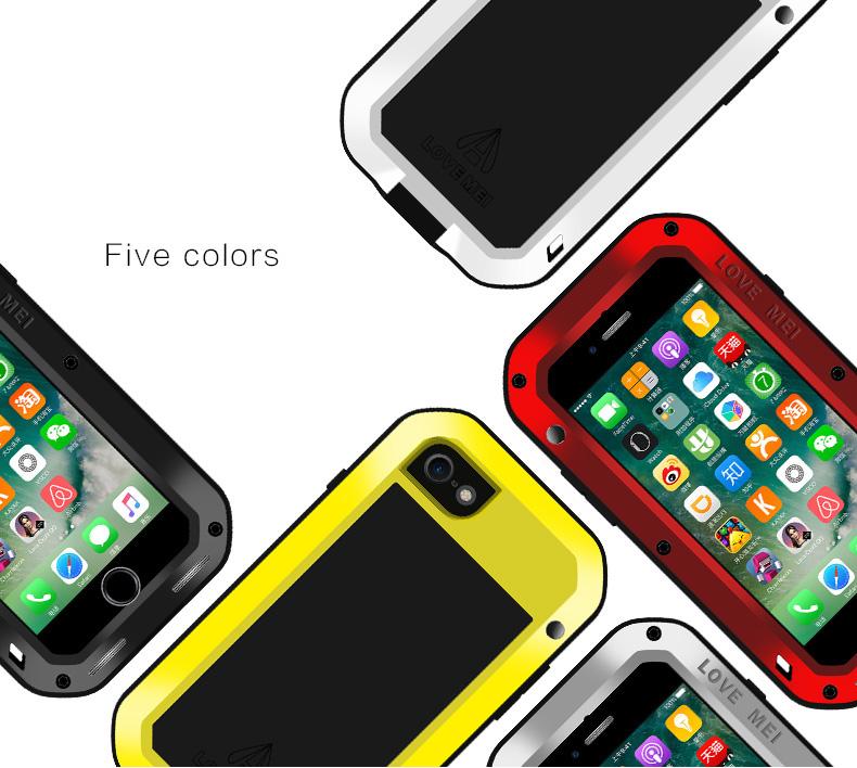iPhone7 メタルフルカバー