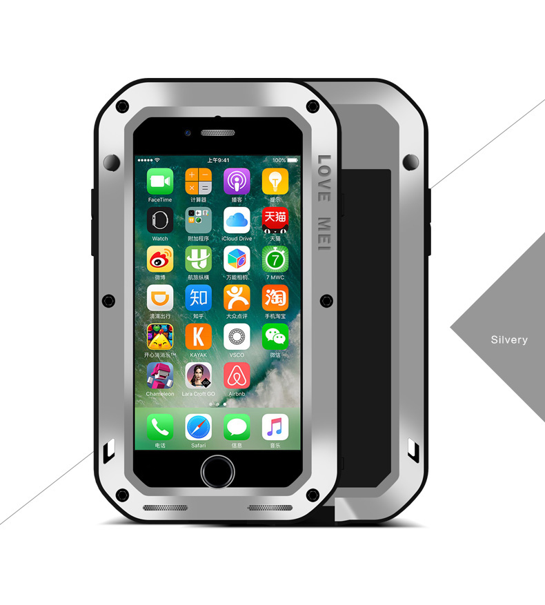 iPhone7 メタル最強カバー