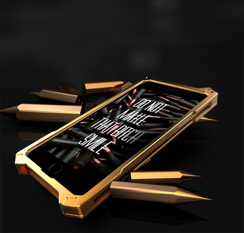 iphone7 アルミ 耐衝撃ケース