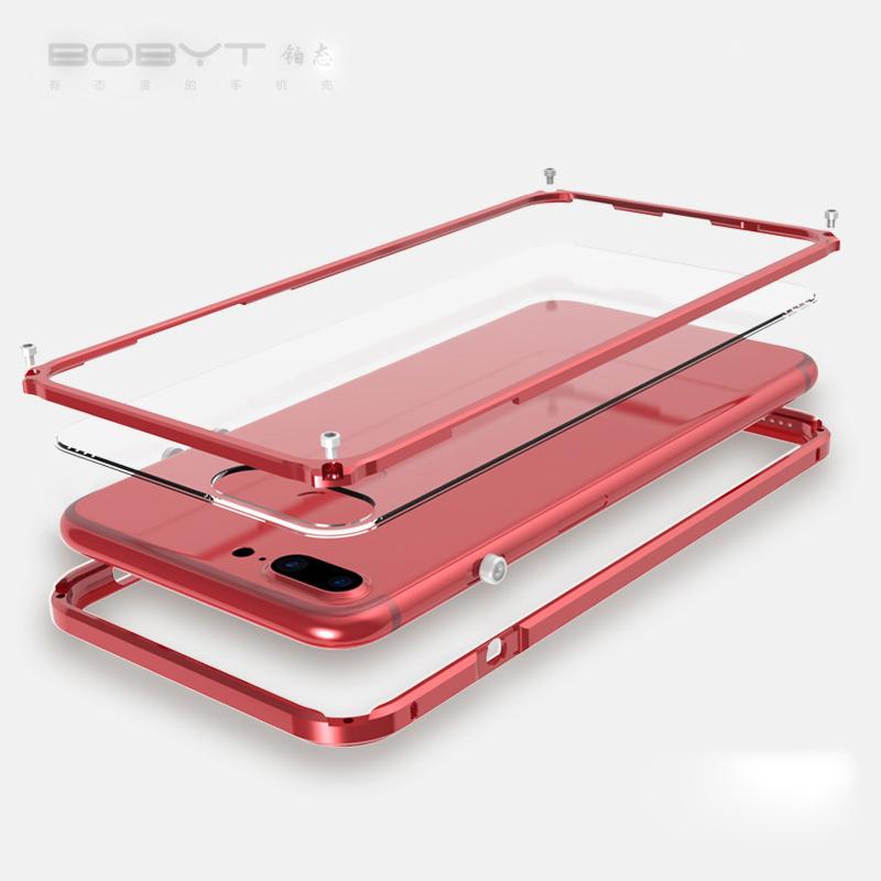iPhone8 アルミバンパー