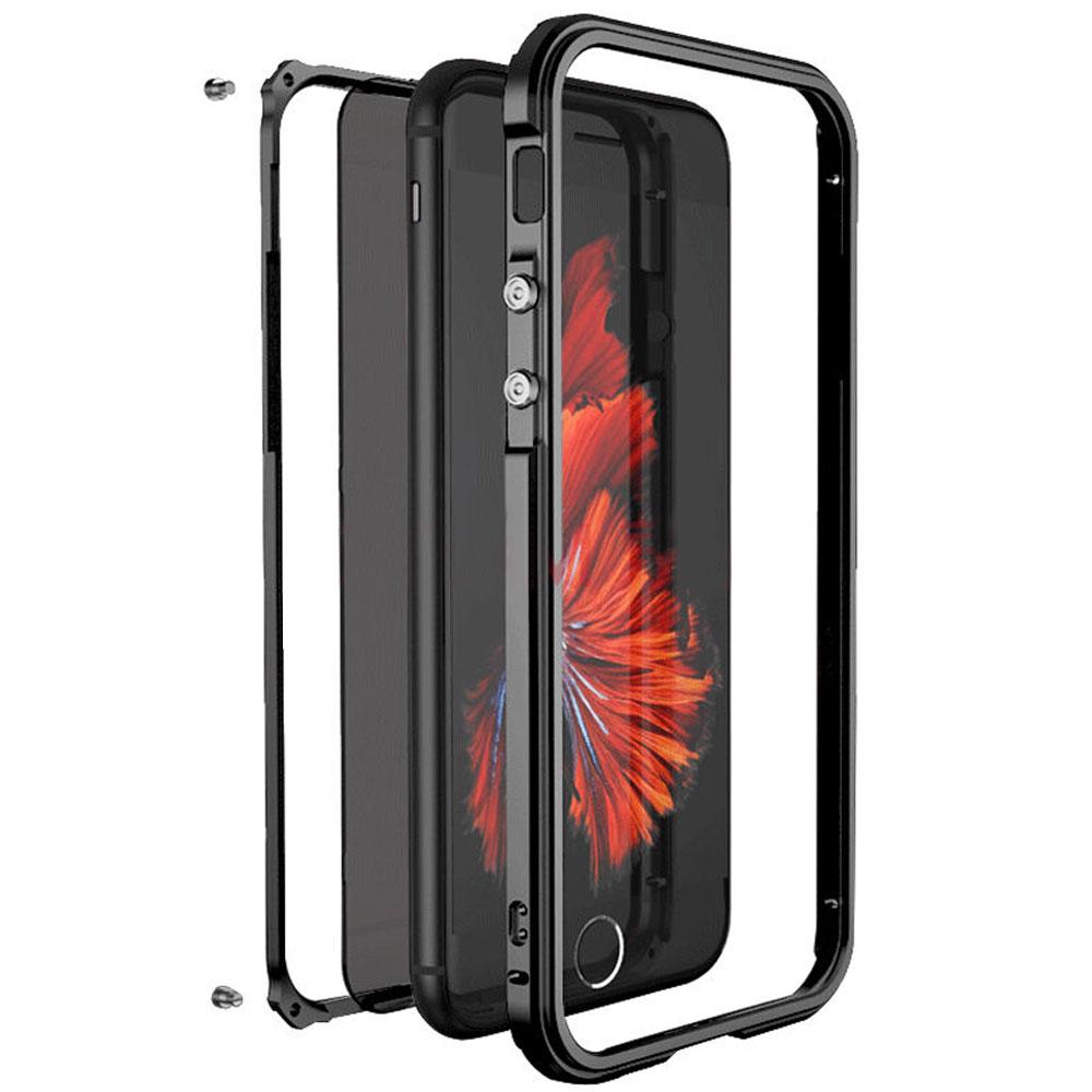 iPhone8 アルミバンパー 背面パネル