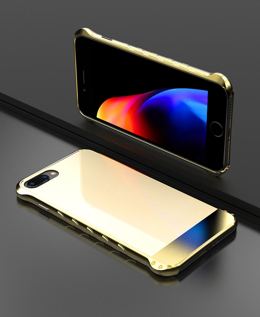 アイフォン8 メタルケース