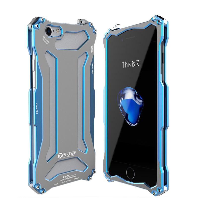 iPhone8 ケース アルミ フルメタル フレーム 耐衝撃 タフケース ...