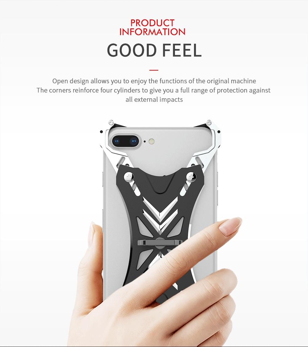 iPhone SE2 アルミバンパーケース