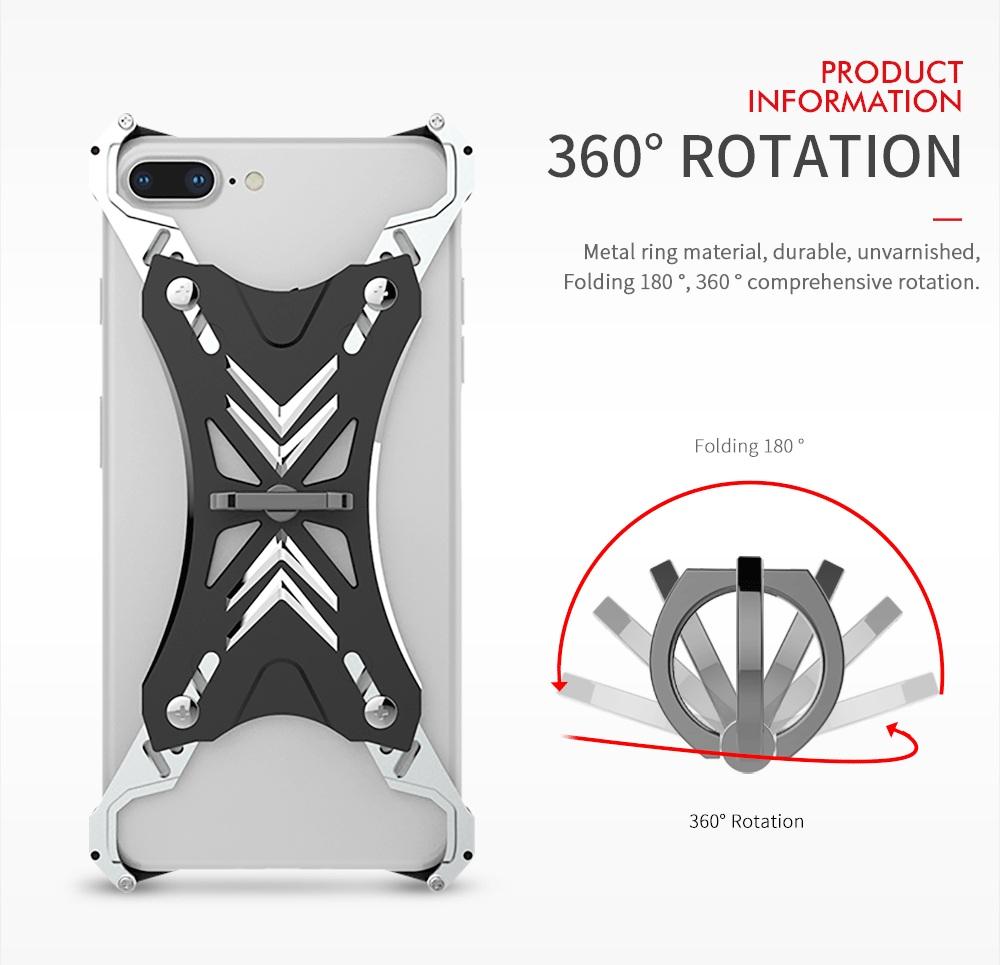 iPhone SE2 メタルケース 4角