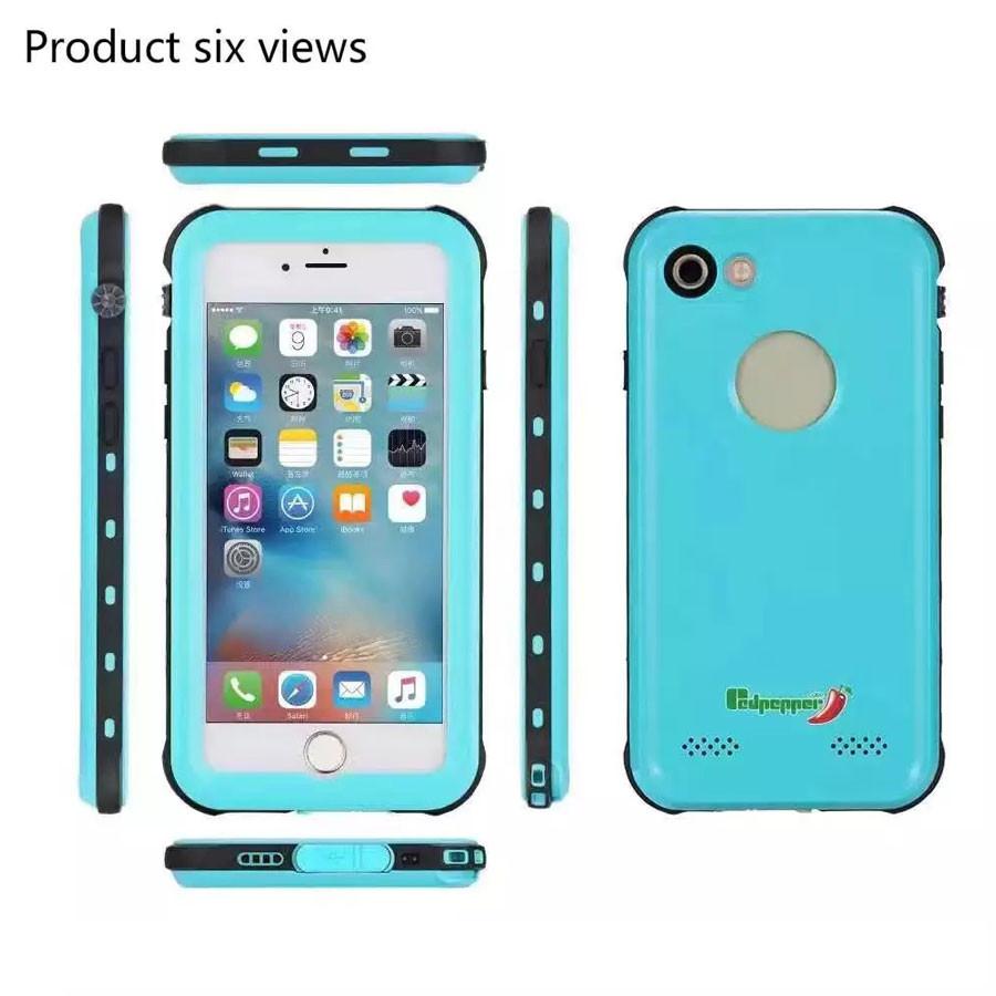 iPhone8 防水 防塵 ケース