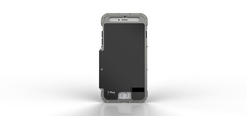 iPhone7 Plus 耐衝撃ケース メタルケース