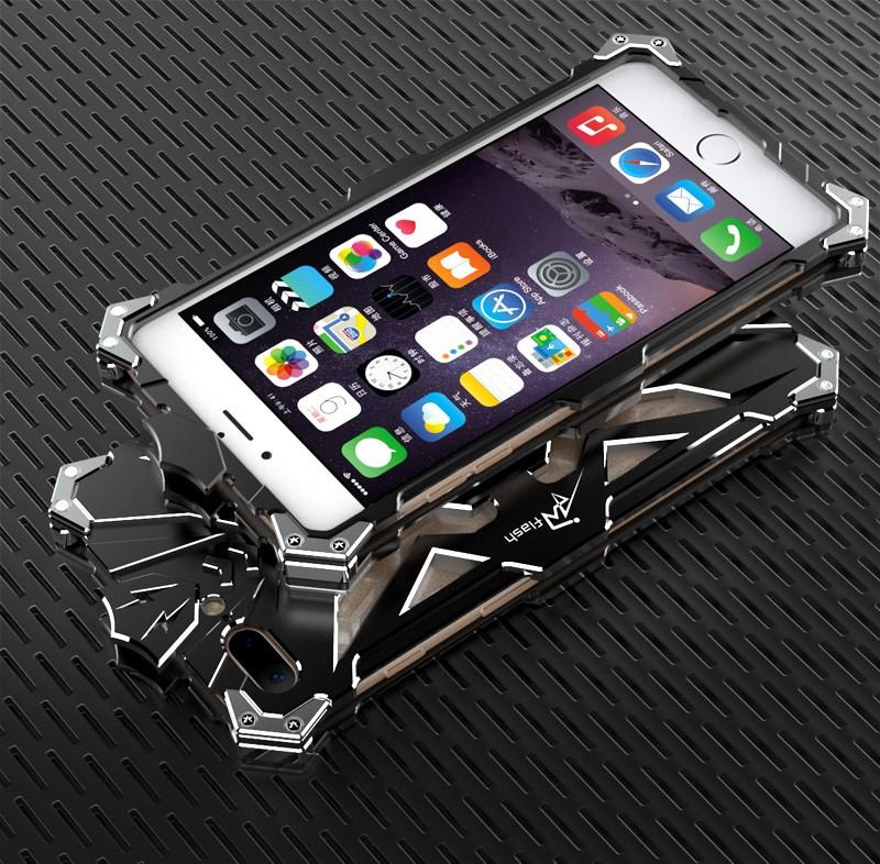 b39f2e8b7f iPhone7 plus ケース アルミ メタル フルカバー 稲妻デザイン 軽量 ...