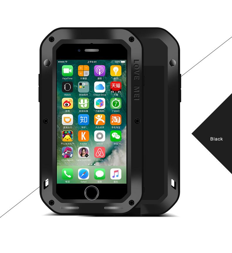 iPhone7 頑丈な鉄のケース