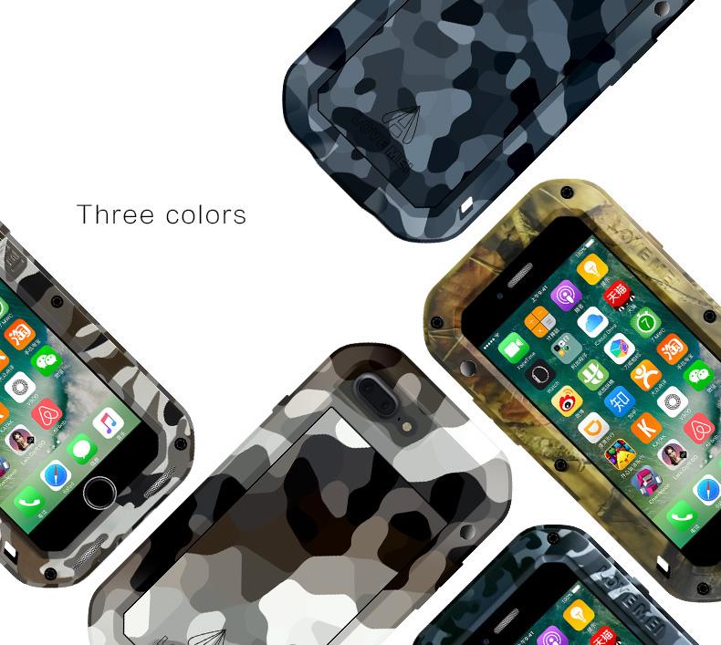 iPhone7 plus タフケース メタル