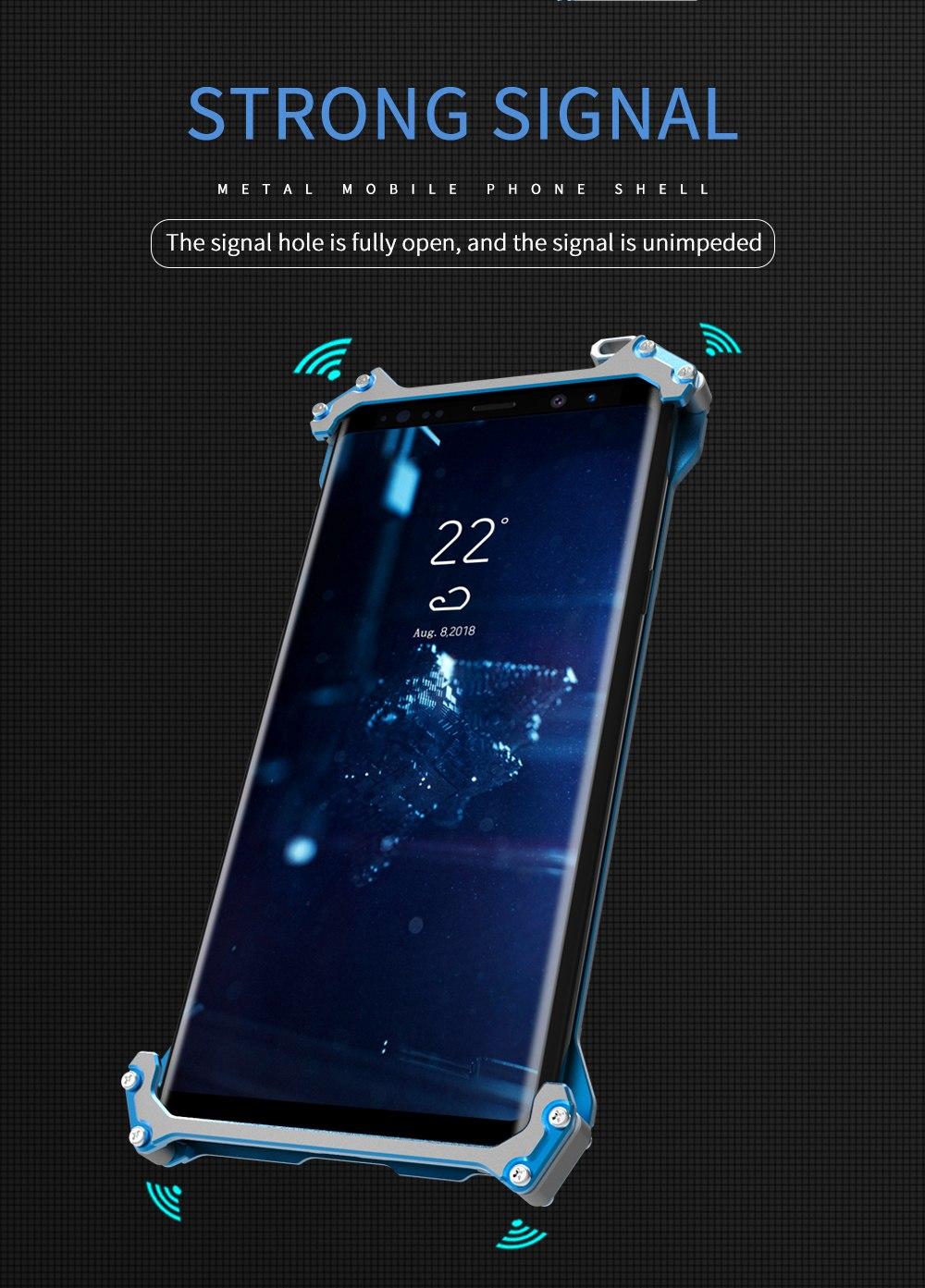 iPhone XR メタルフルカバー