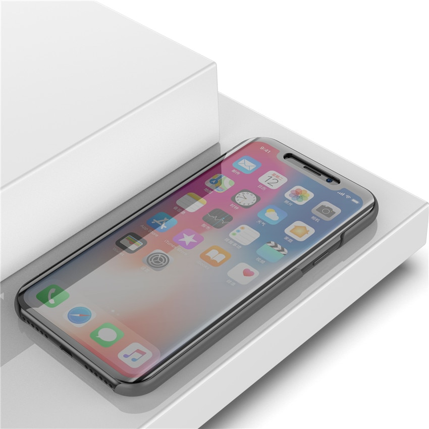 iphone XR ケース カバーの上から操作