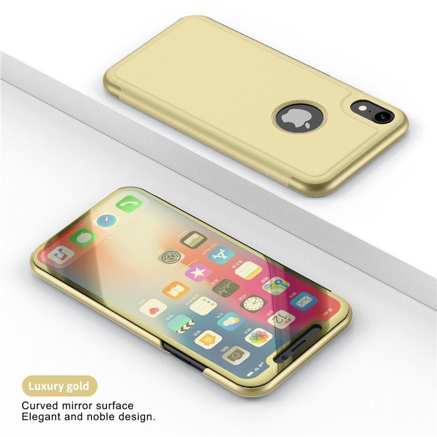 iphone XR メッキケース