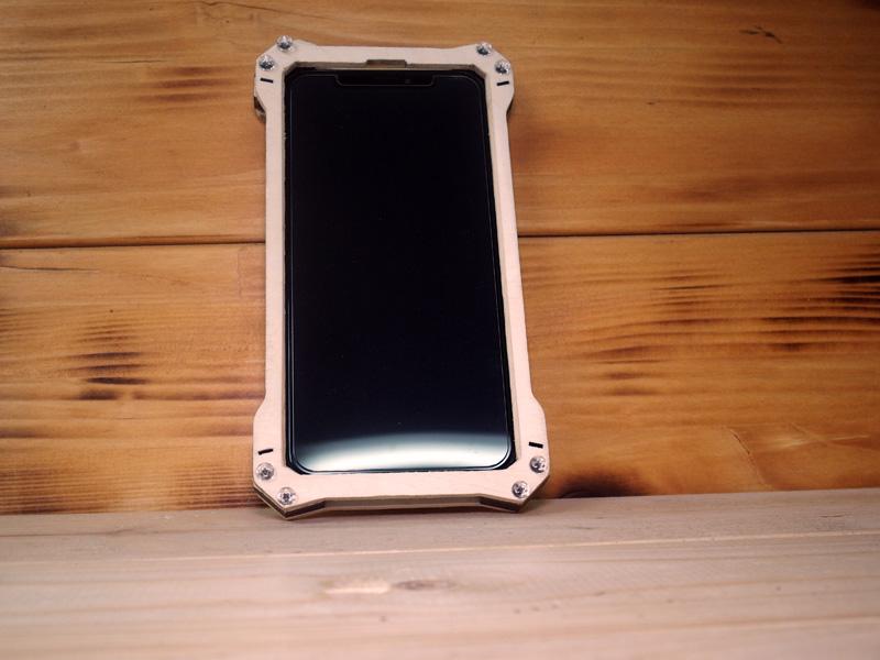 iPhone Xs ウッドケース オリジナル
