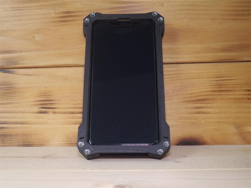 iphone x ウッドケース ハンドメイド