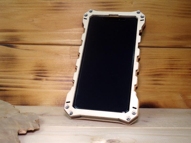 iphone x 耐衝撃 ミリタリー