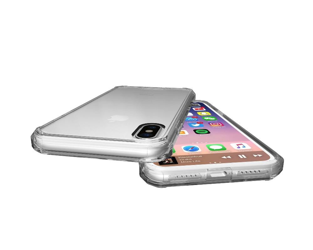 iPhone X クリア タフケース
