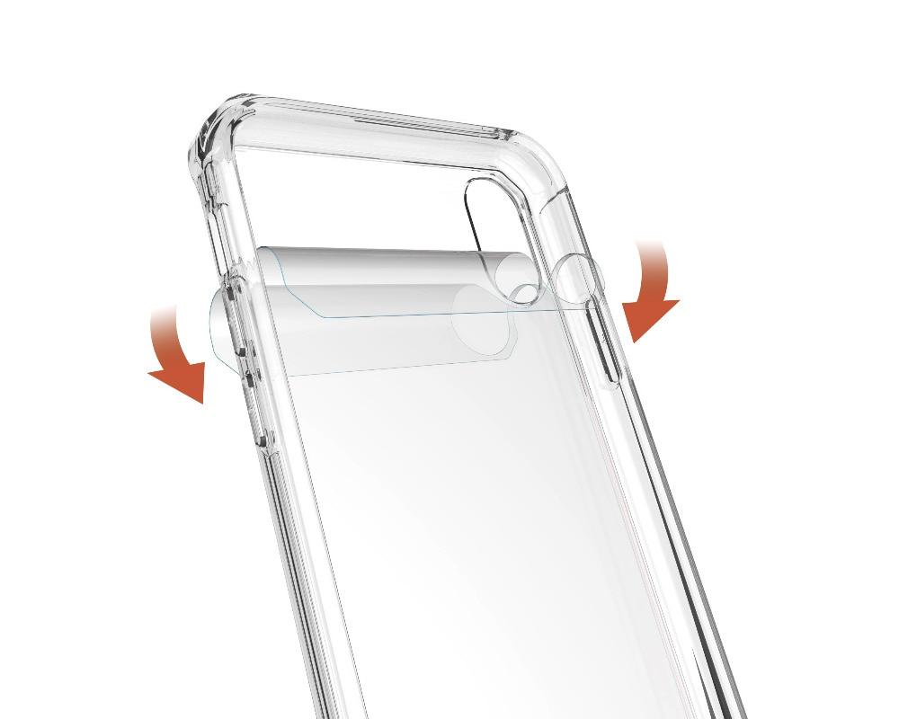 iPhone X 透明 耐衝撃ケース
