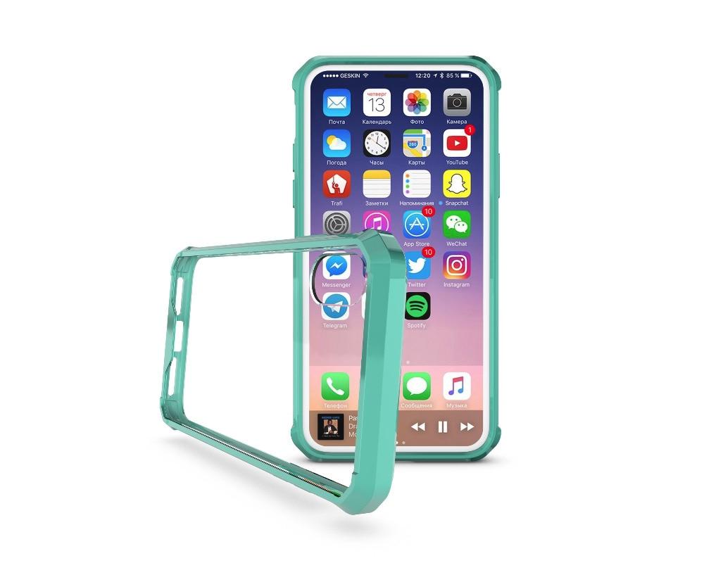 iPhone X クリア 耐衝撃