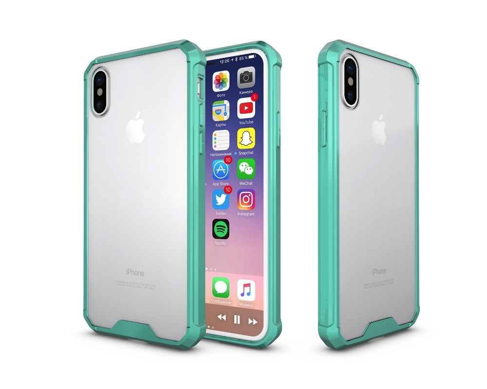 iPhone XR クリア 耐衝撃