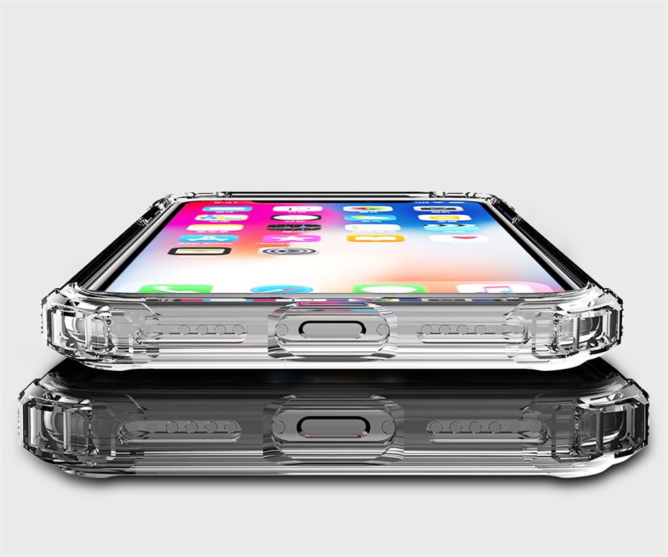 iPhone XR 耐衝撃 クリアケース