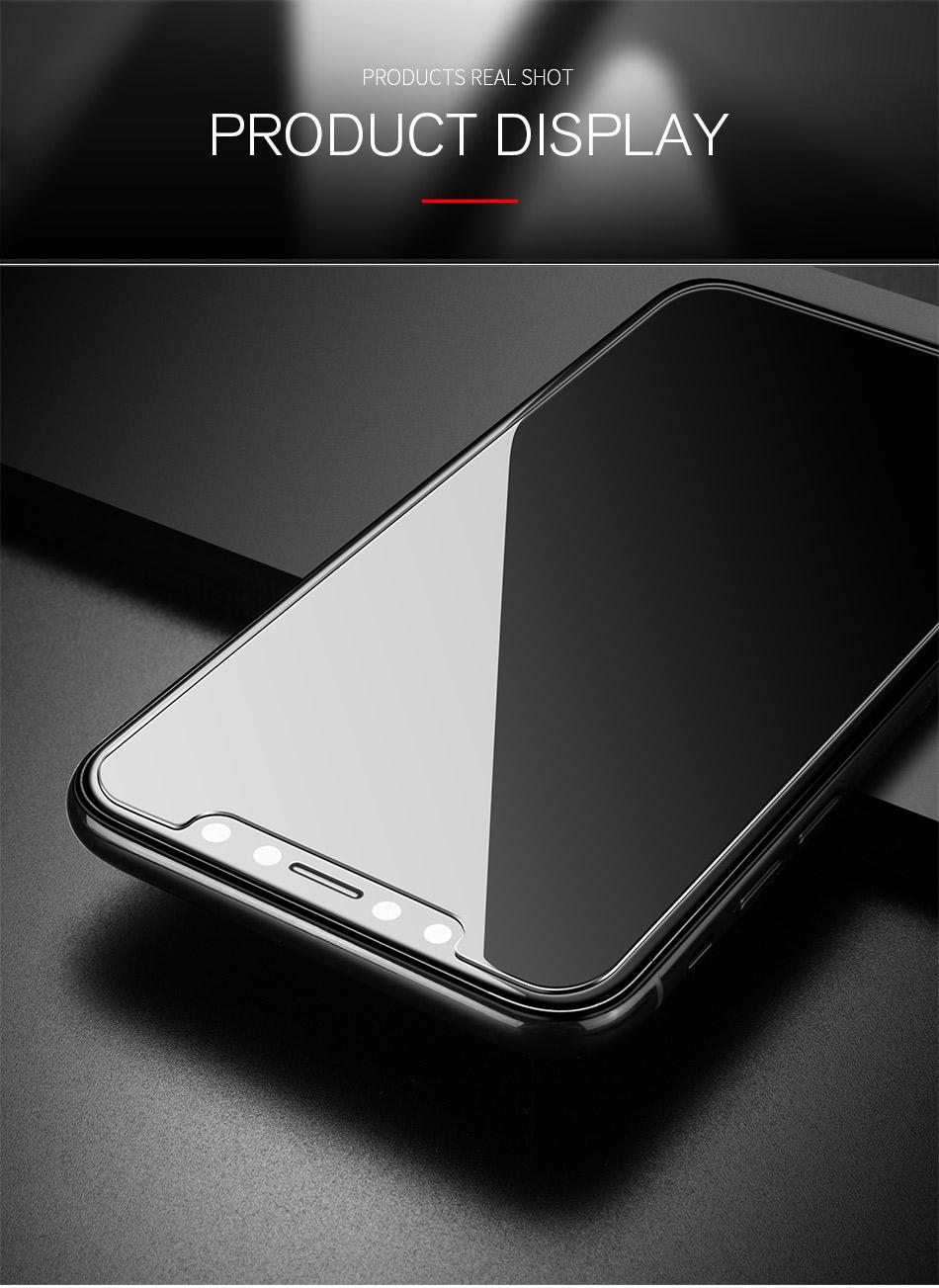アイフォン X 強化ガラス 激安