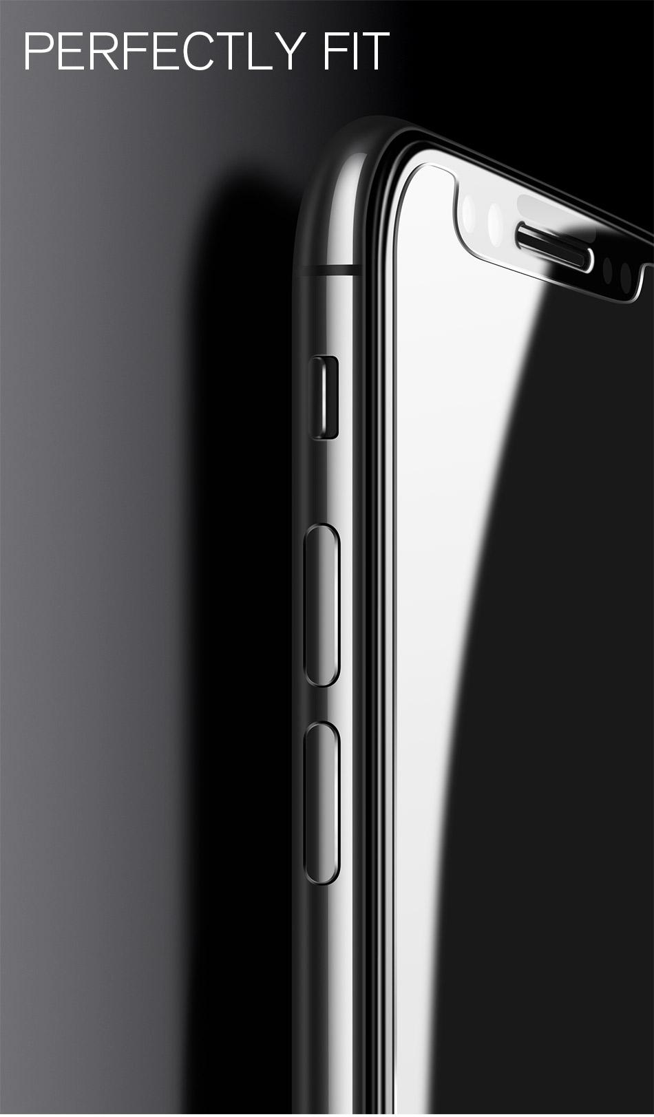 iphoneX 激安ガラス