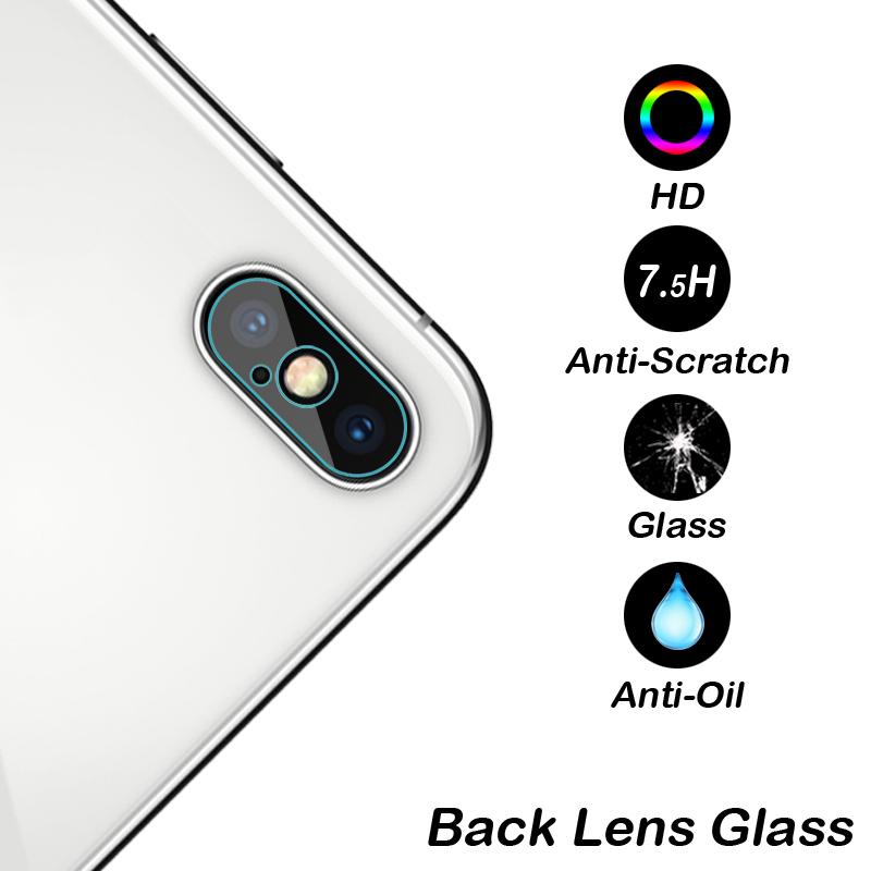iPhone Xs カメラレンズ 強化ガラス