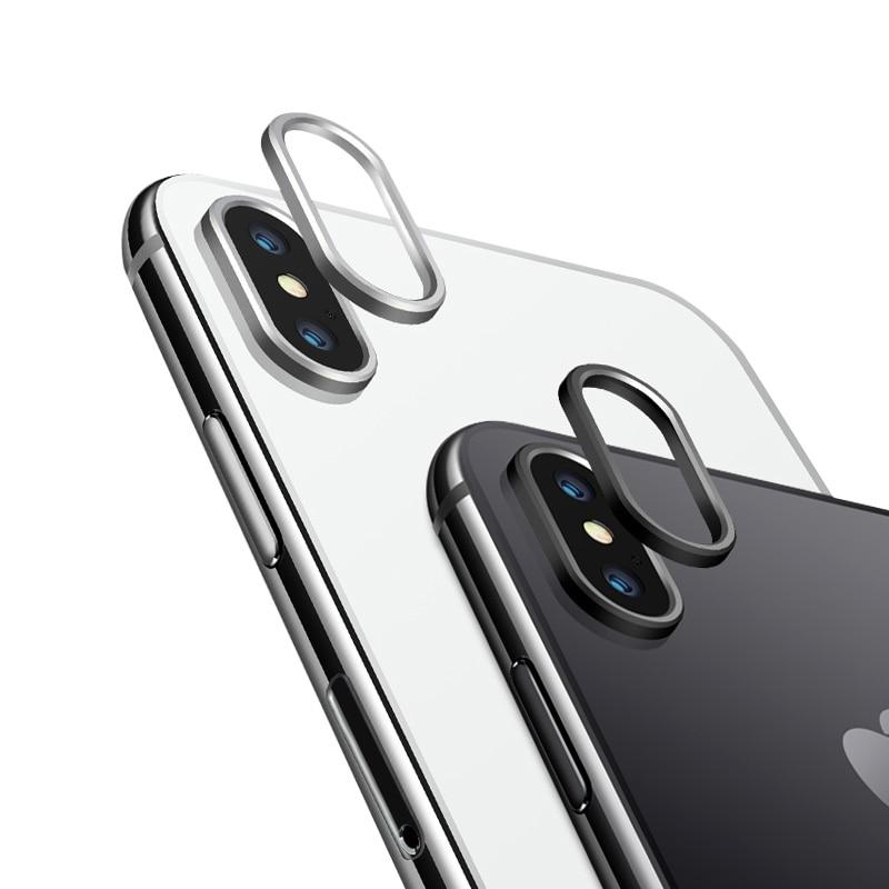 iPhone XS カメラレンズ プロテクター