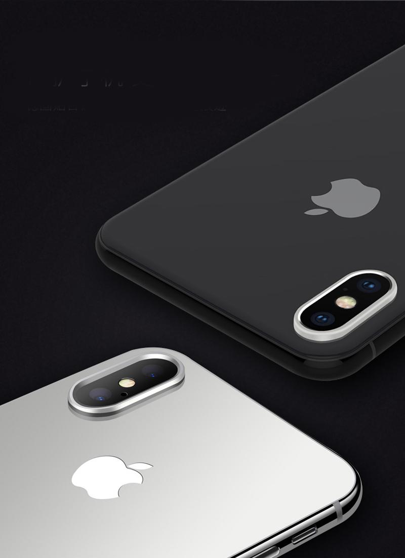 iPhone XS カメラレンズ リング