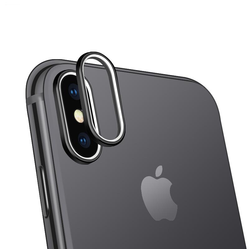 iPhone XS カメラレンズ バンパー