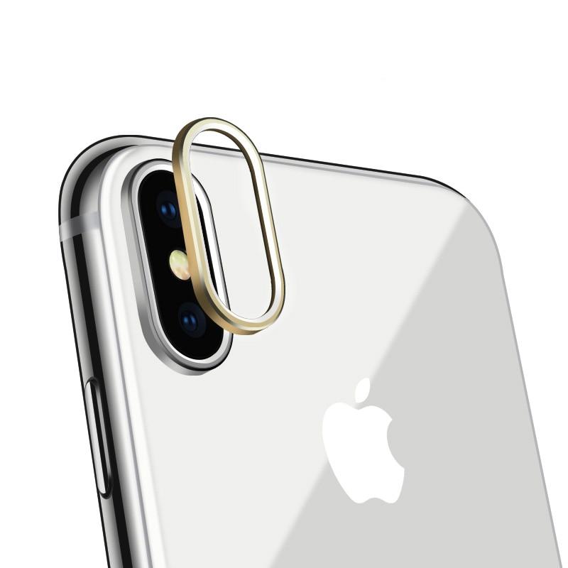 iPhone XS カメラレンズ アルミフレーム