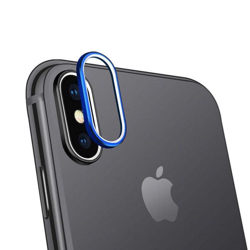 iPhone XS カメラレンズ メタルフレーム